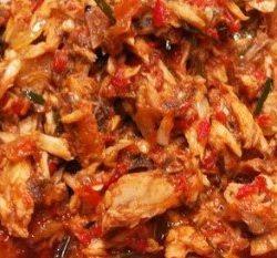 Gongso Ayam Suwir